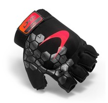 Glove X-Lite '17 Black Collection Fluo Rood/Zwart