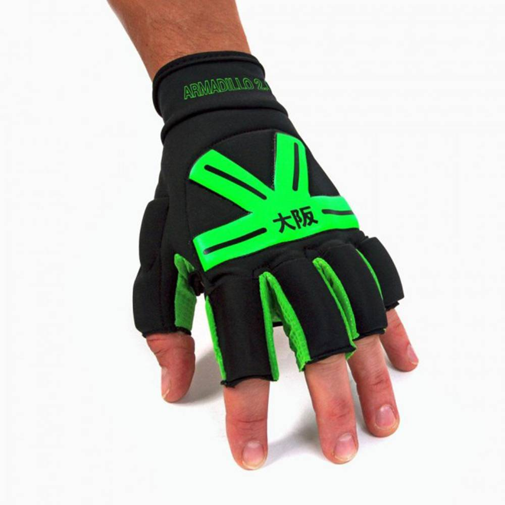 Osaka Armadillo Glove Black/Green