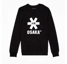 Men Sweater White Star Black