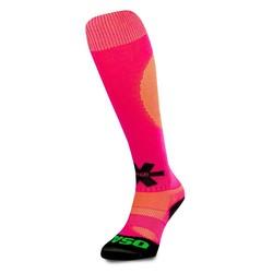 SOX Pink/Yellow Melange hockeysokken