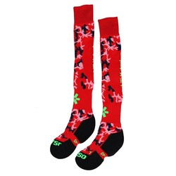 SOX Red Camo/Green hockeysokken