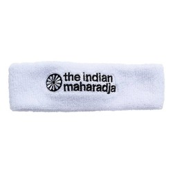 The Indian Maharadja Headband white