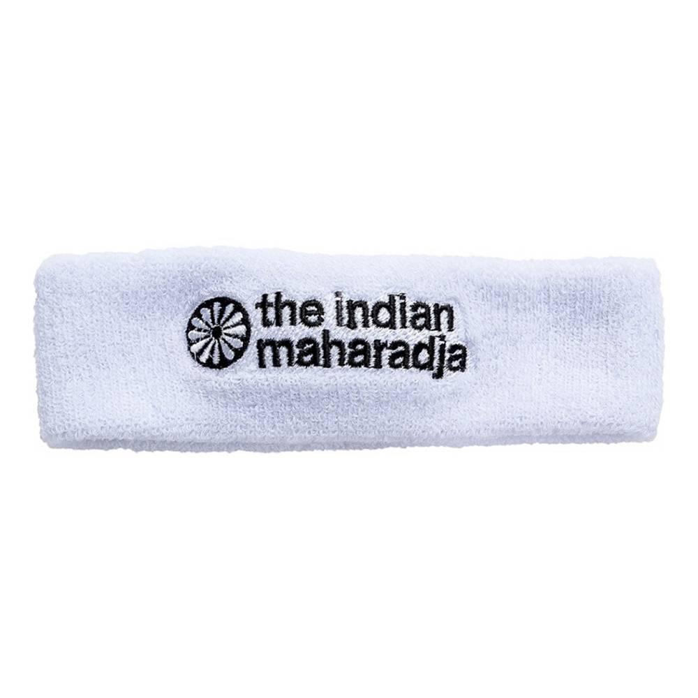 The Indian Maharadja Headband white