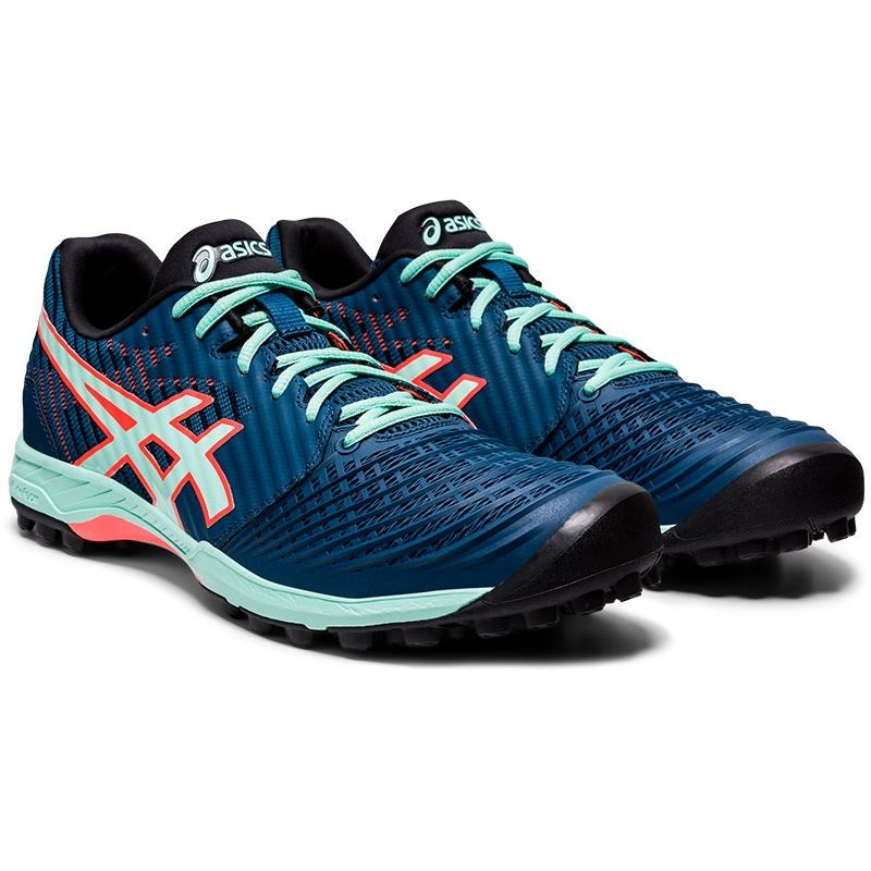 Asics Field Ultimate FF Women Blue/Lime 20/21