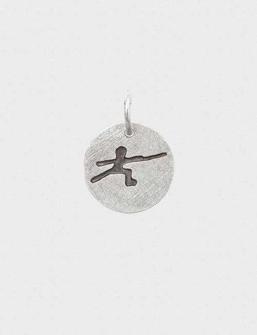 "Uhlmann Fencing Ciondolo in argento ""Schermitore"""