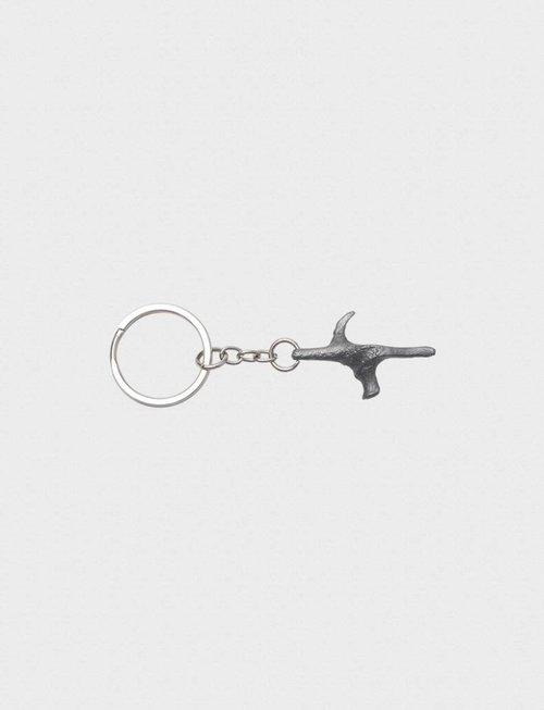 Uhlmann Fencing Porte clé en forme de poignée Pistolet brillant