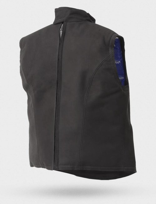 Uhlmann Fencing Protection supplémentaire en cuir sans manche avec RRV