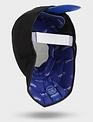 Uhlmann Fencing Masque pour maître d'armes FIE, avec ajouts en cuir, noir