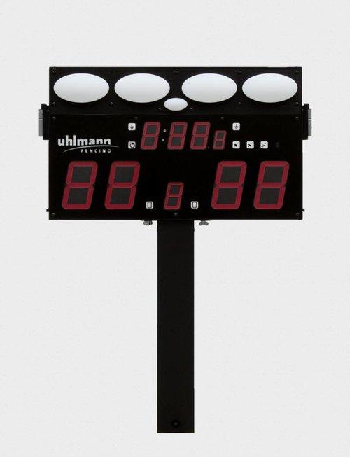 """Uhlmann Fencing Statif avec un dispositif d'attache pour  """"FMA 03"""""""
