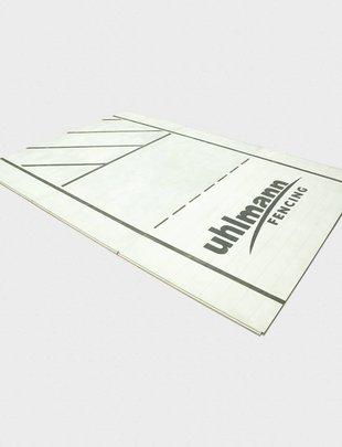 Uhlmann Fencing Piste d'escrime en aluminium en segment 200x100x2 cm