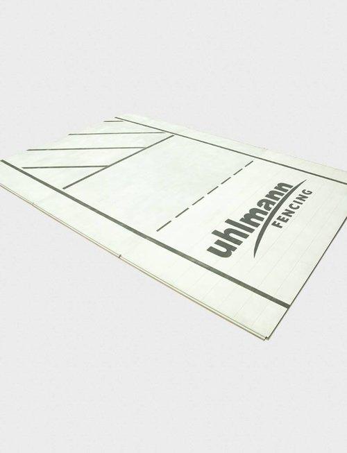 Uhlmann Fencing Binario di recinzione in alluminio nel segmento 200x100x2 cm