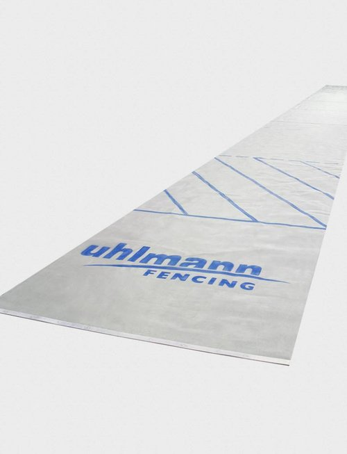 Uhlmann Fencing Edelstahl-Fechtbahn 1,55 x 17 m