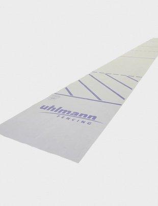 Uhlmann Fencing Binario Estrime realizzato con tessuti 17x 2 m per finale