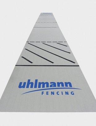 Uhlmann Fencing Piste d'esrime en tissus 17x 1,5m avec revêtement anti-dérapant