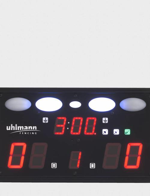 "Uhlmann Fencing Fechtmelder ""FMA 001"" mit Fernbedienung"