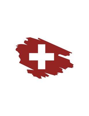 Swiss Fencing Logo SwissFencing - per entrambi i lati-
