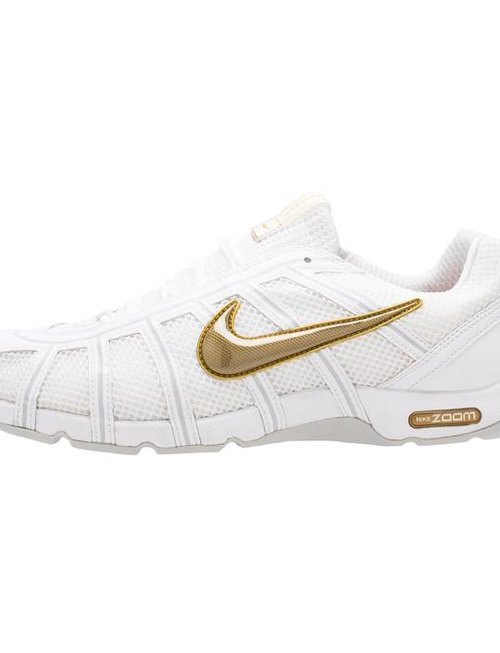 Nike LIMITED EDITION - WHITE/METALLIC GOLD