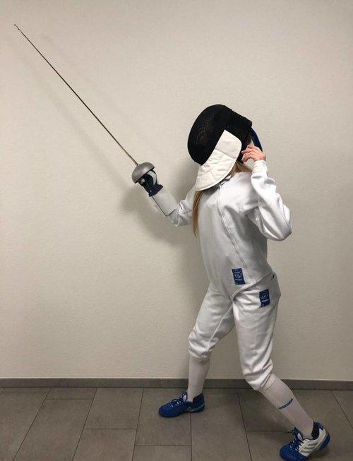 Uhlmann Fencing Damen Starter-Kit FIE 800N (Royal)