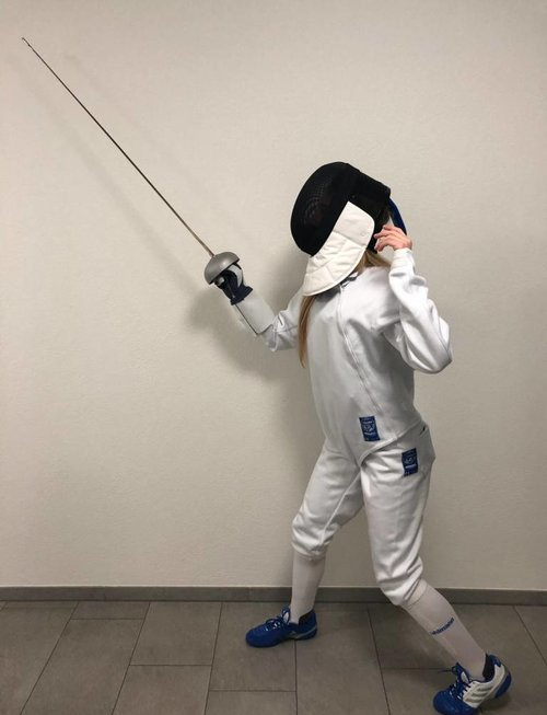 Uhlmann Fencing WOMEN Starter-Kit FIE 800N (Royal)