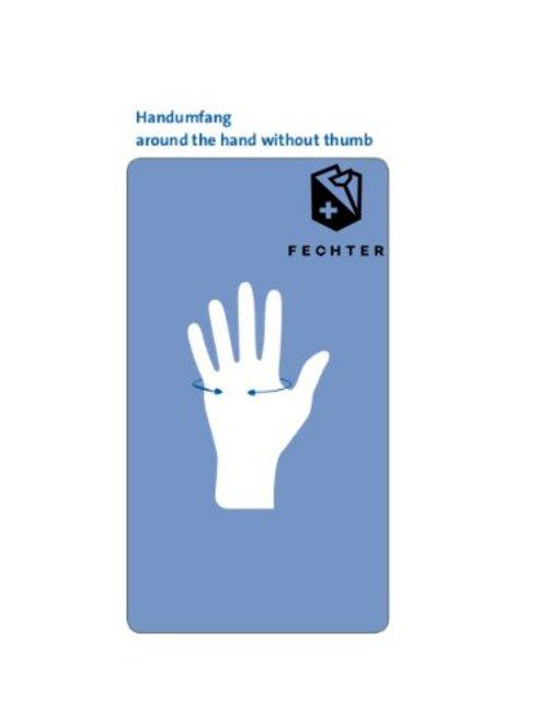 Uhlmann Fencing gant pour maitre CHAMPION, noir