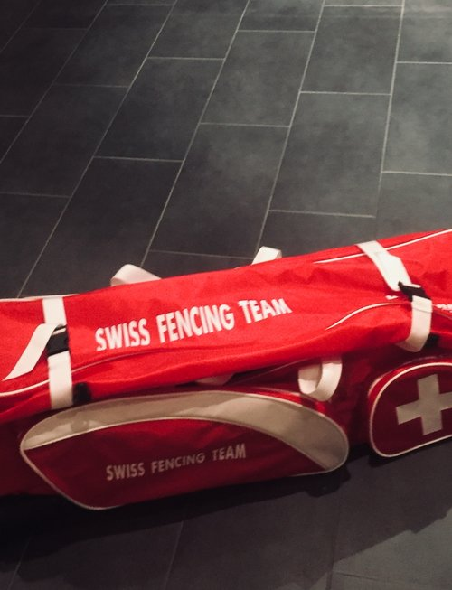 "Swiss Fencing SwissFencing - Special Edition - Rollbag ""Jumbo Spezial"""