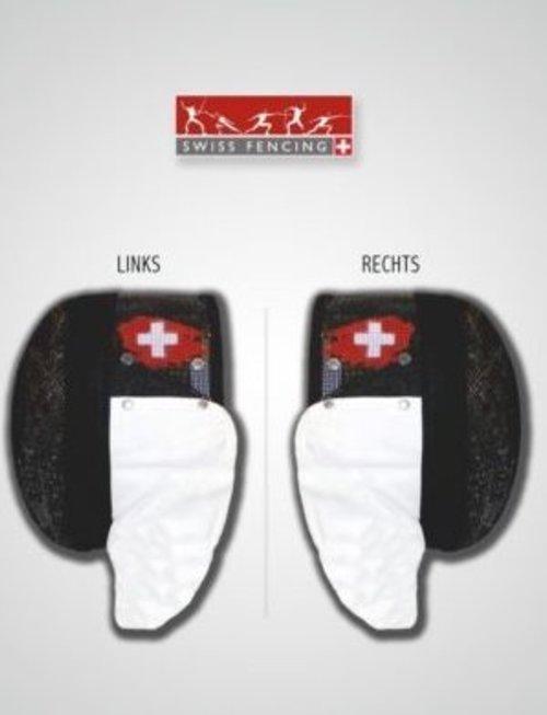 Swiss Fencing Logo  (FIE) Swiss Fencing sur masque