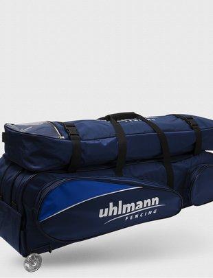 "Uhlmann Fencing Rollbag ""Vario"" Plus, inklusive Aufsatztasche"