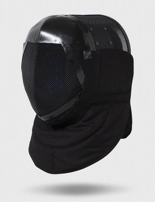 """Uhlmann Fencing Fechtmaske Spezial 1600N """"Extra"""" mit Hinterkopf- und Nackenschutz durch integrierte Kunststoff-Platte"""