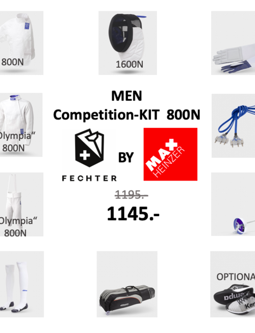 Uhlmann Fencing MEN Competition-Kit FIE 800N (Olympia)