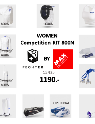 Uhlmann Fencing Damen Competition-Kit FIE 800N (Olympia)