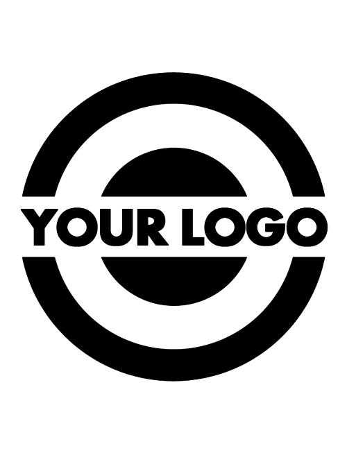 Uhlmann Fencing Logo auf Fechtbahn (pro Seite)
