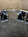 Uhlmann Fencing Telaio di sherma per sedie a rotelle con bracci di bloccaggio (completo)