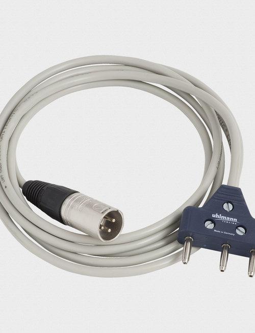 Uhlmann Fencing Cavo di collegamento box pavimento/rivelatore (2m)