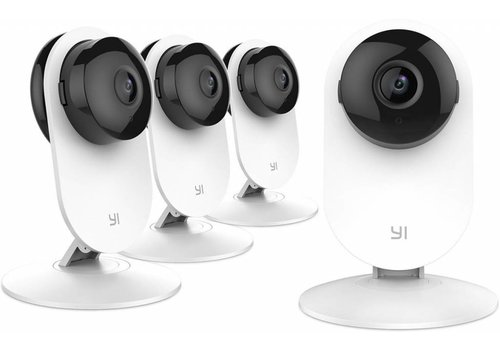 Xiaomi Yi Smart Home 720P IP Camera (Official EU Edition) - Wit - 4 Stuks