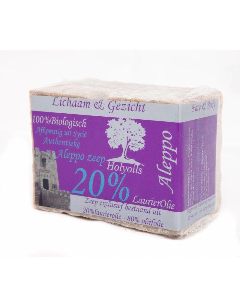 Holyoils Holyoils Aleppo Zeep - 20% Laurel