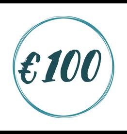 kado bon 100 euro