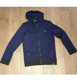 Indian Blue jeans hooded zipper jacket