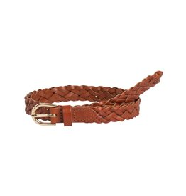 Pieces NOOS - PCAVERY LEATHER BRAIDED SLIM BELT NOOS