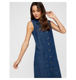 Pieces PCMALLE SL DENIM DRESS MB