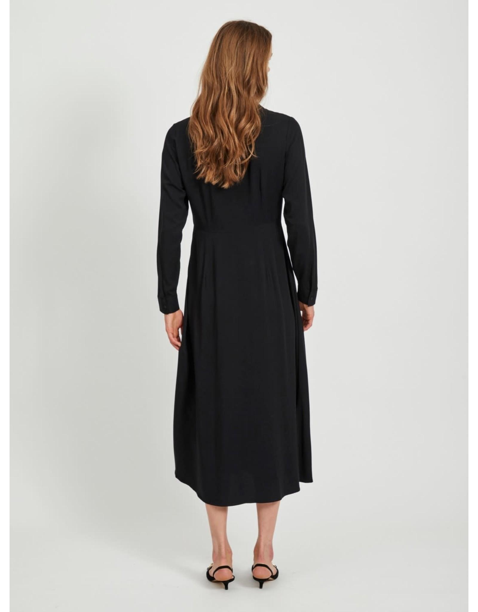 Object OBJBAYA L/S LONG SHIRT DRESS NOOS