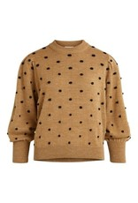 Object OBJLAURIE L/S KNIT PULLOVER 111