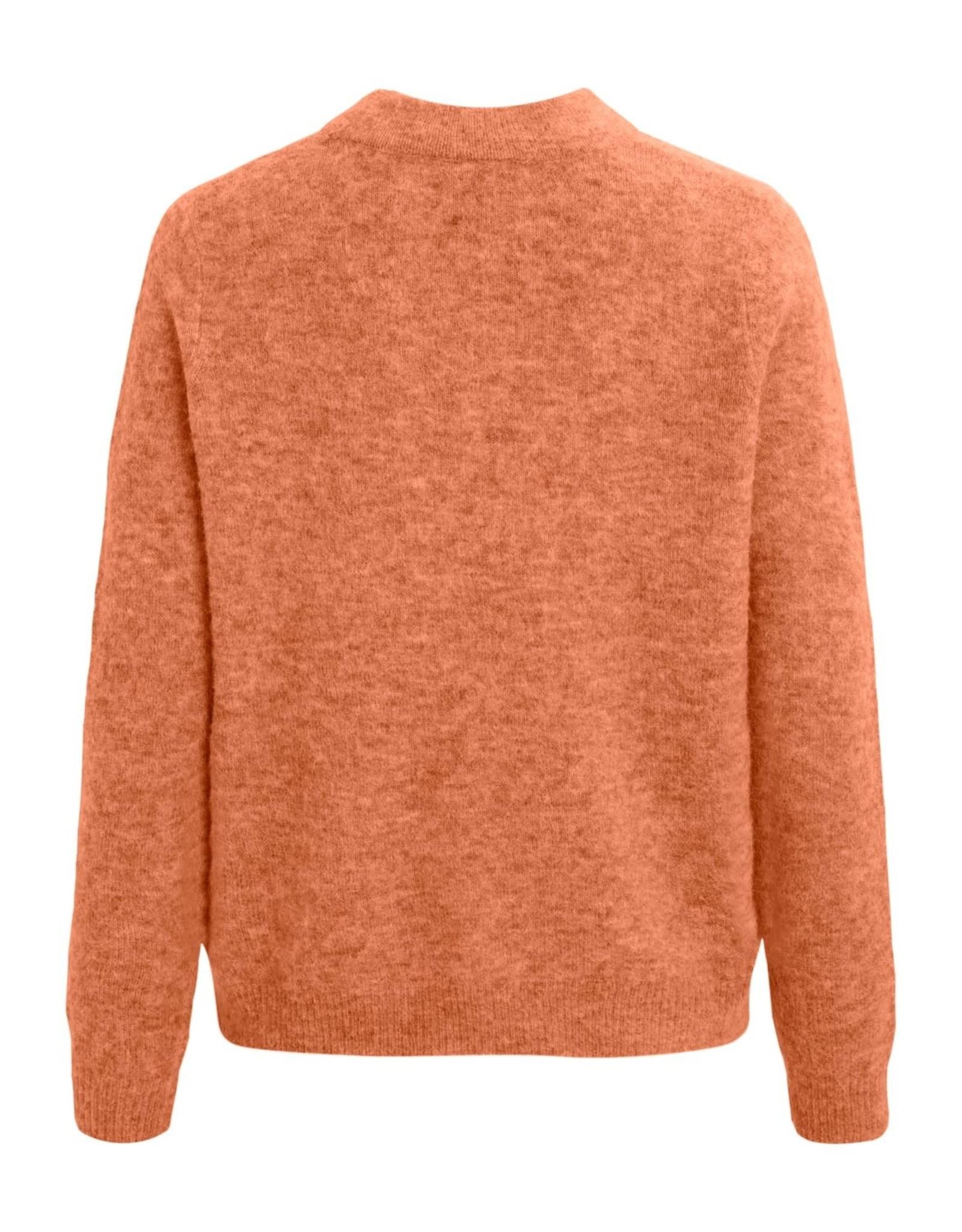 Object objnete l/s knit pullover sc