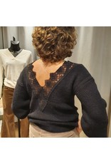 Vila VIGOOD LACE BACK L/S TOP C13