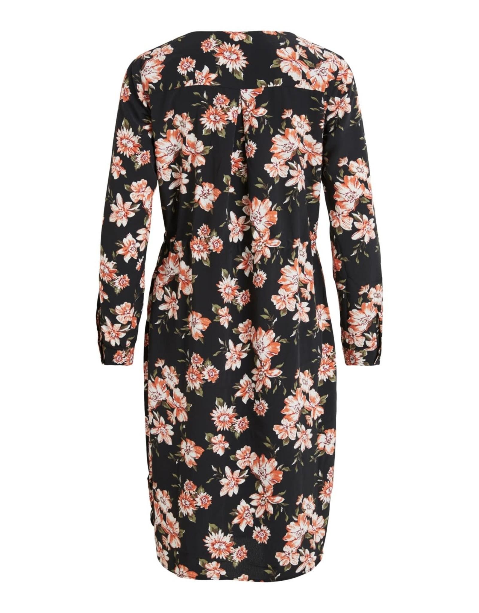 Vila VILICIA L/S SHIRT DRESS /DK