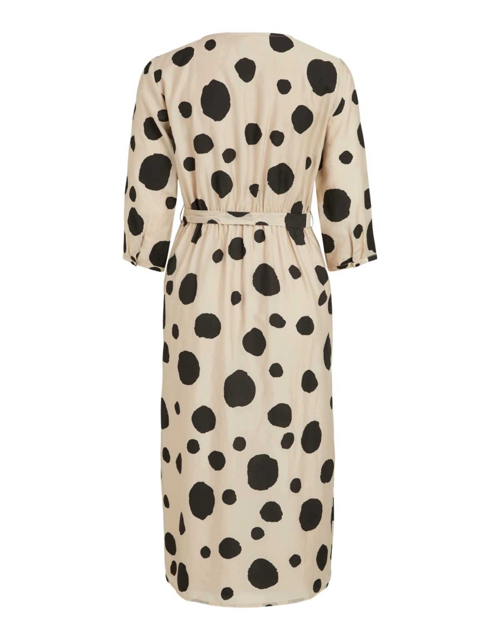 Vila VIDOTMINA 3/4 WRAP MIDI DRESS