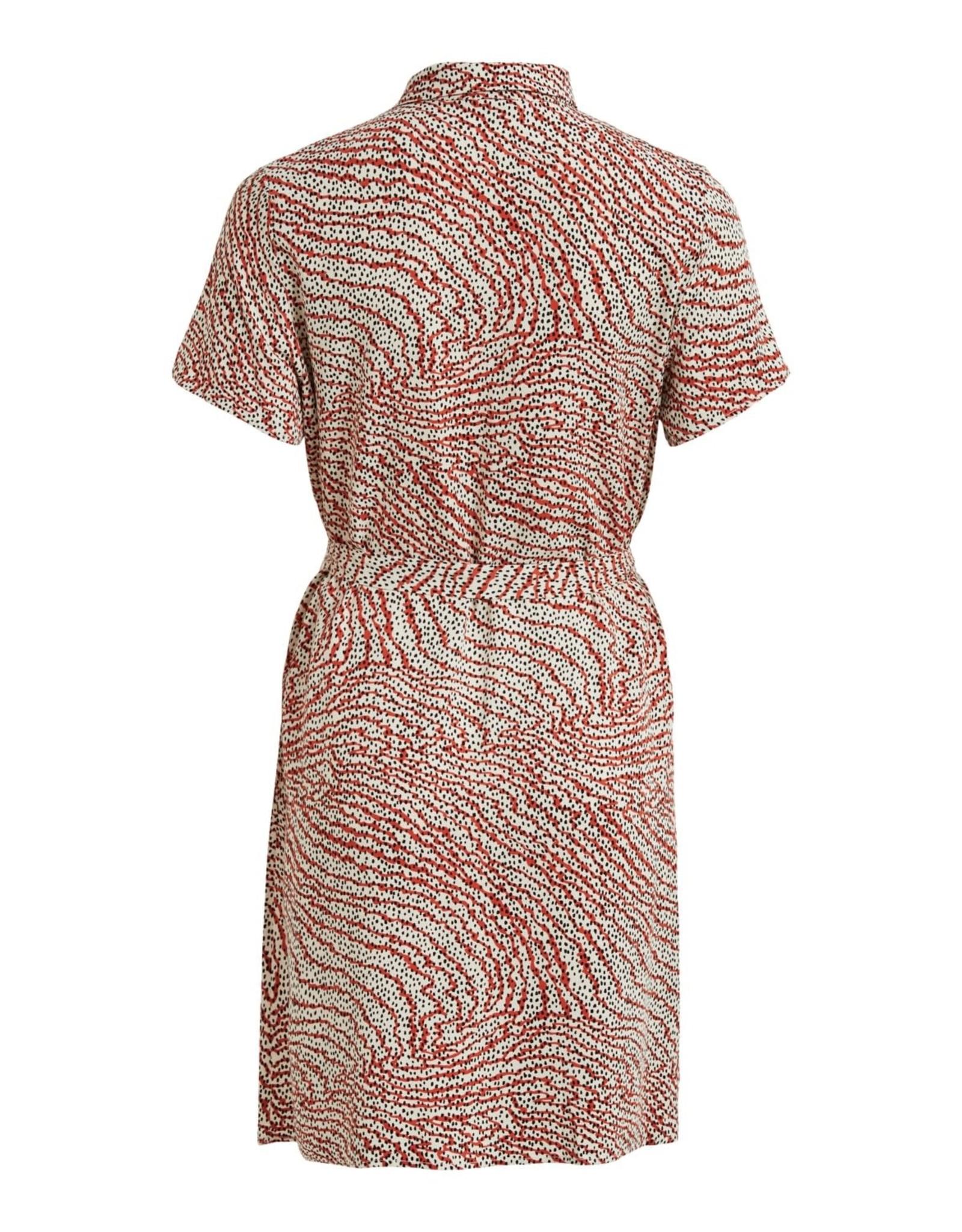 Vila VIMORAS S/S SHIRT DRESS/SU