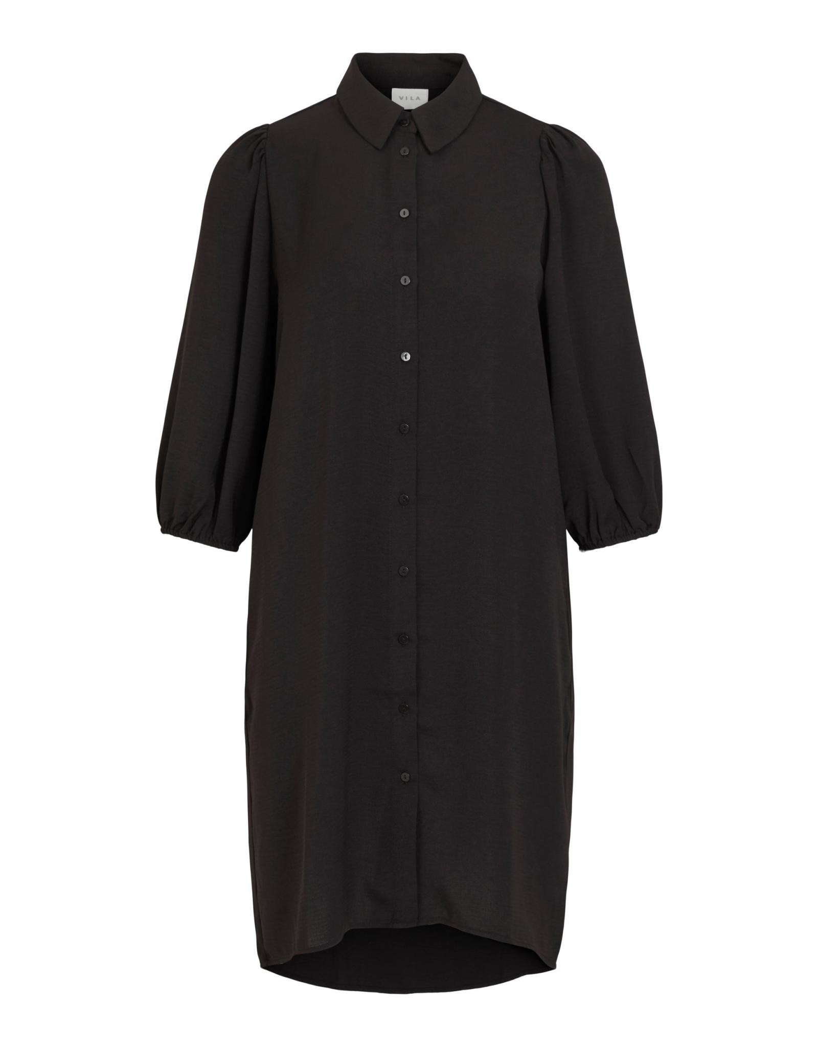 Vila VIJAHULA 3/4 SLEEVE SHIRT DRESS/SU/I