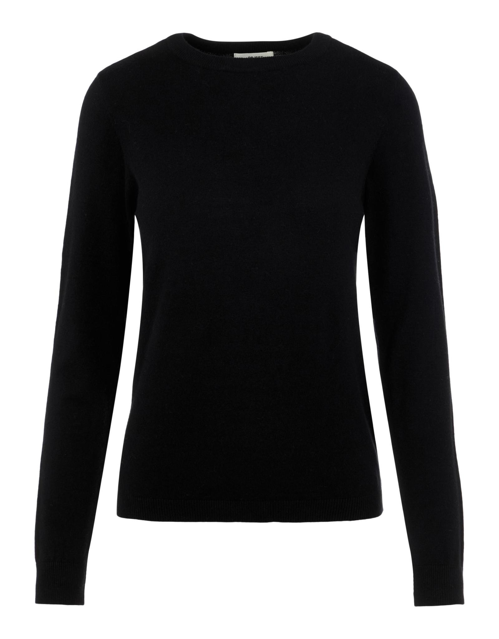 Object OBJTHESS L/S O-NECK KNIT PULLOVER NOOS