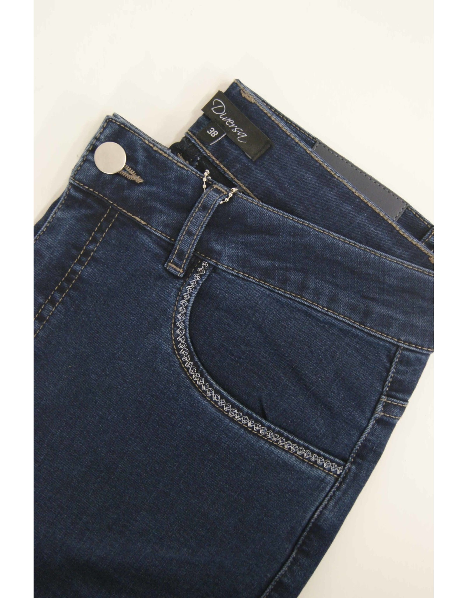 Diversa Bima donkere jeans