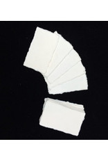 Set 50 of cards mulberry 9x5cm